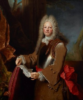 AGNSW collection Nicolas de Largillierre Portrait of an officer (circa 1714-circa 1715) 176.1995