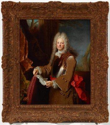 Alternate image of Portrait of an officer by Nicolas de Largillierre