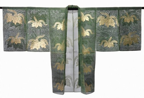 An image of Nō theatre robe (maiginu) by
