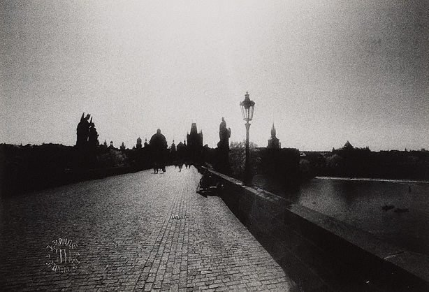 An image of Charles bridge, Prague