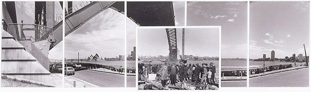 An image of The Harbour Bridge at Milson's Point 1930-1983
