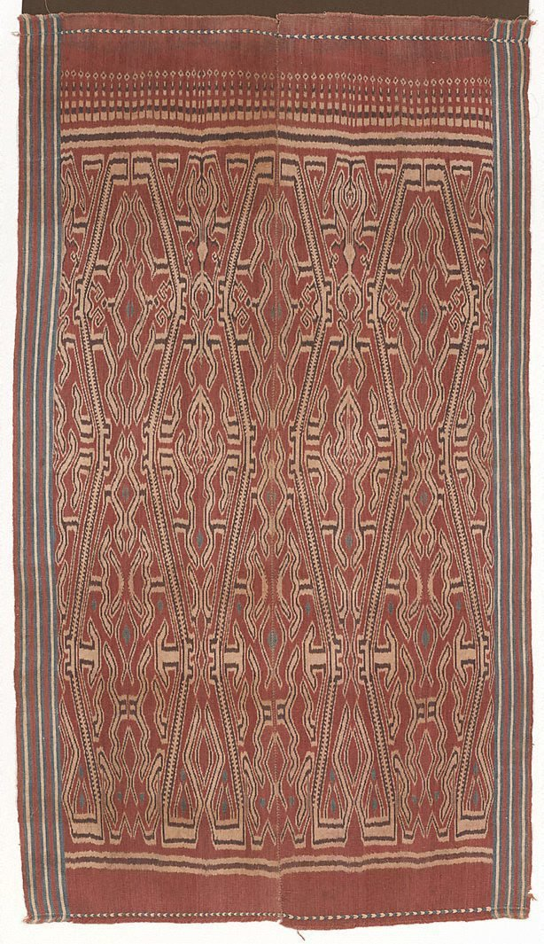 An image of Ceremonial cloth (pua kumbu)