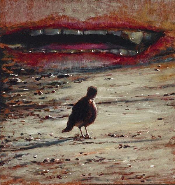 Untitled #1304, (2009) by Louise Hearman