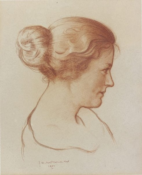 An image of Portrait of Pearl Lindsay by JS MacDonald