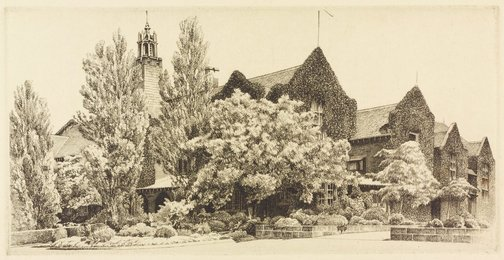 An image of (The Holme Building, University of Sydney) by E Warner