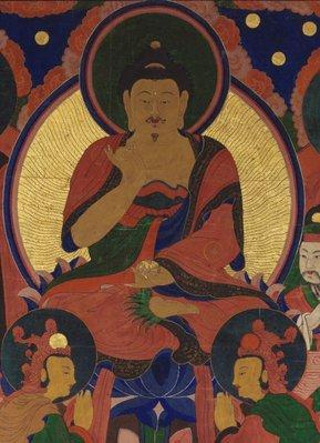 Alternate image of Buddha Amitabha and his pantheon by