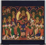 Alternate image of Buddha Amitabha and his pantheon by