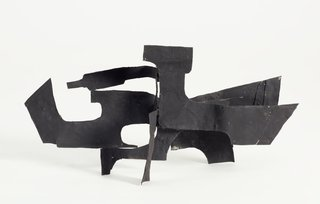 AGNSW collection Margel Hinder Untitled (maquette for 'Black silhouette') Unknown