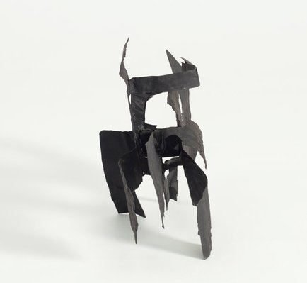 Alternate image of Untitled (maquette for 'Black silhouette') by Margel Hinder