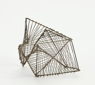 AGNSW collection Margel Hinder (Untitled maquette for sculpture) Unknown