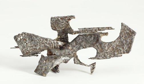 An image of Untitled (maquette for 'Competition for Sculpture for Anzac House, Sydney') by Margel Hinder