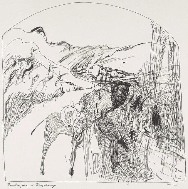 An image of Donkey man – Sayalonga