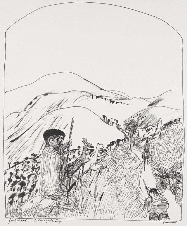 An image of Goat herd – Almayate Bajo