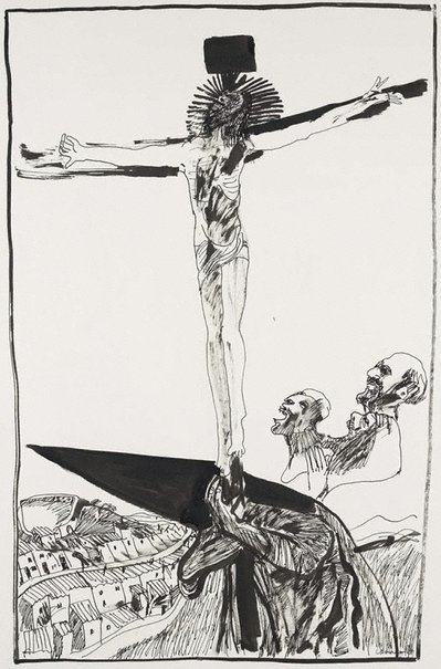An image of (Crucifixion) by Kevin Connor