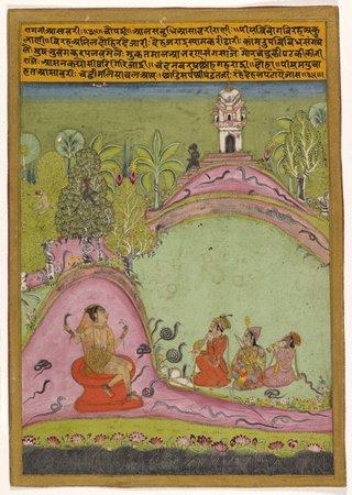 AGNSW collection Asavari ragini late 17th century