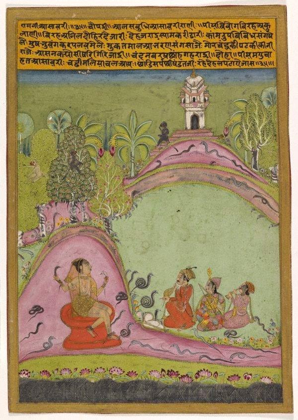 An image of Asavari ragini