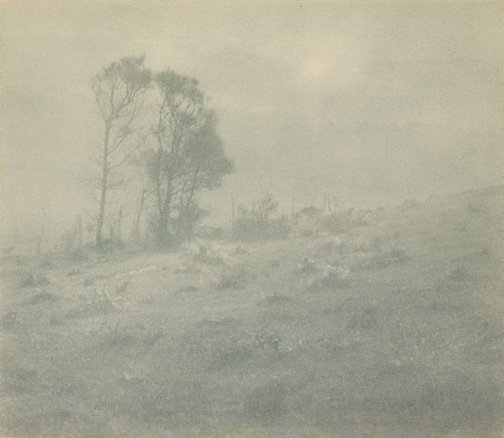 An image of Drifting mist by William Robert David Howells