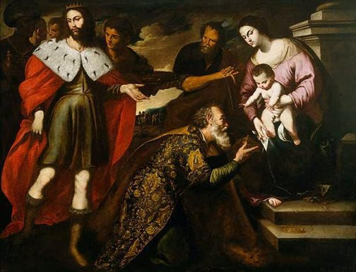 An image of Adoration of the Magi by Andrea Vaccaro