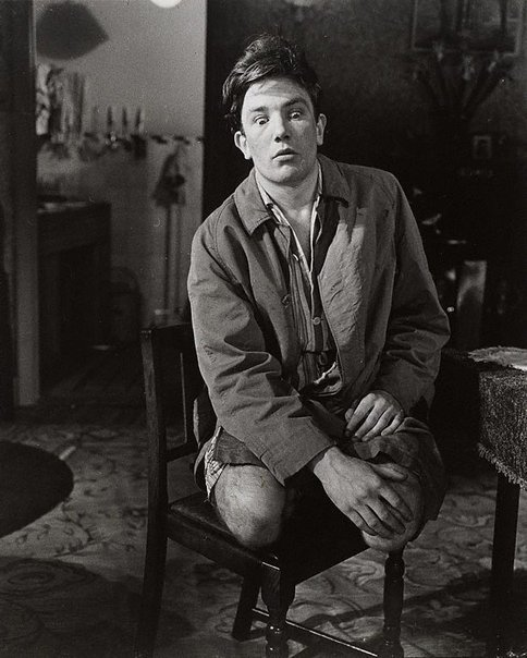 An image of Albert Finney in 'Billy Liar' by Keith Waterhouse and Willis Hall, Cambridge Theatre, London by Lewis Morley
