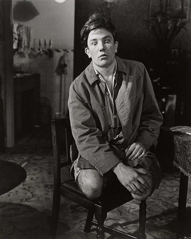 An image of Albert Finney in 'Billy Liar' by Keith Waterhouse and Willis Hall, Cambridge Theatre, London