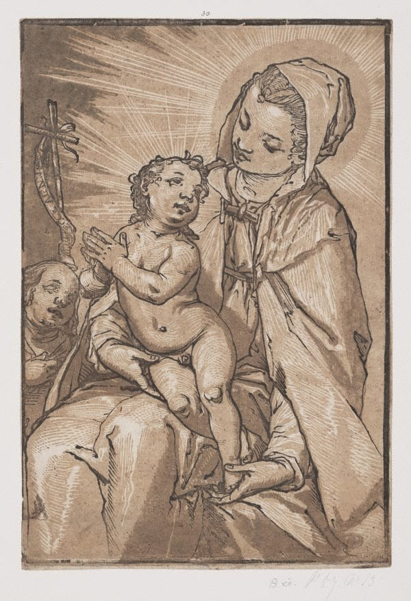 An image of The Virgin and Child