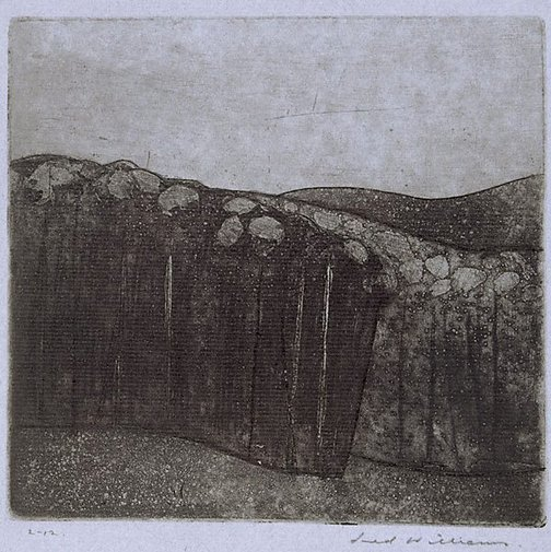 An image of Forest at Almerton number 2 by Fred Williams