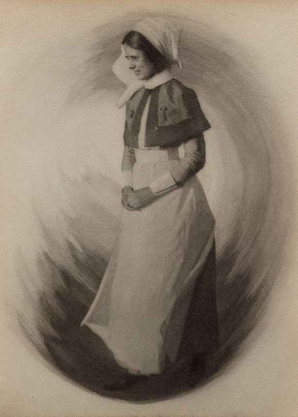 An image of War-time types IV: the hospital sister