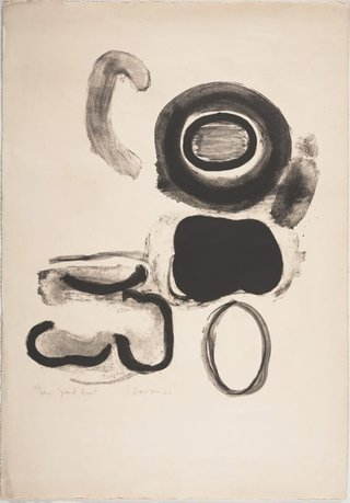 AGNSW collection Janet Dawson Grand bruit (Big noise) 1960