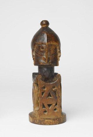 AGNSW collection Ancestor figure (korwar) 19th century-20th century