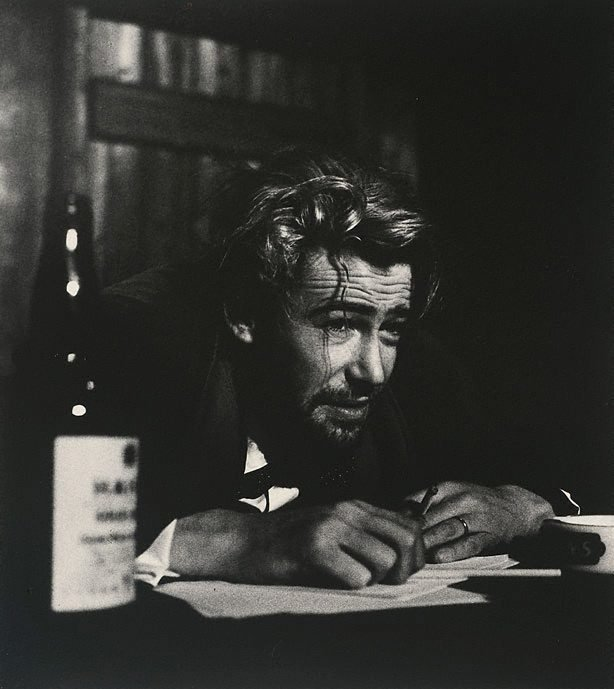 An image of Peter O'Toole in 'Baa'l by Bertold Brecht, Phoenix Theatre, London