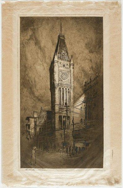 An image of Perth City Hall by Henri van Raalte