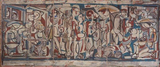 Anak Bayan, (1957) by Ian Fairweather