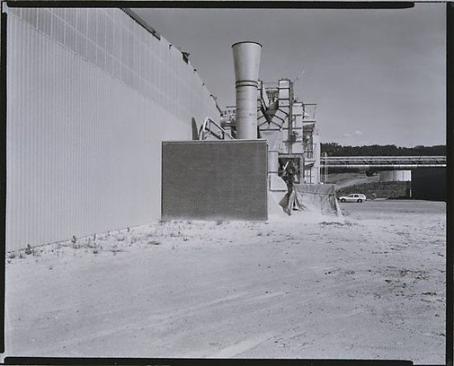An image of CSR Pyneboard factory, Tumut, New South Wales by Fiona Hall