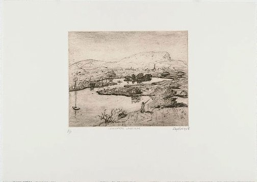 An image of Illawarra landscape by Lloyd Rees