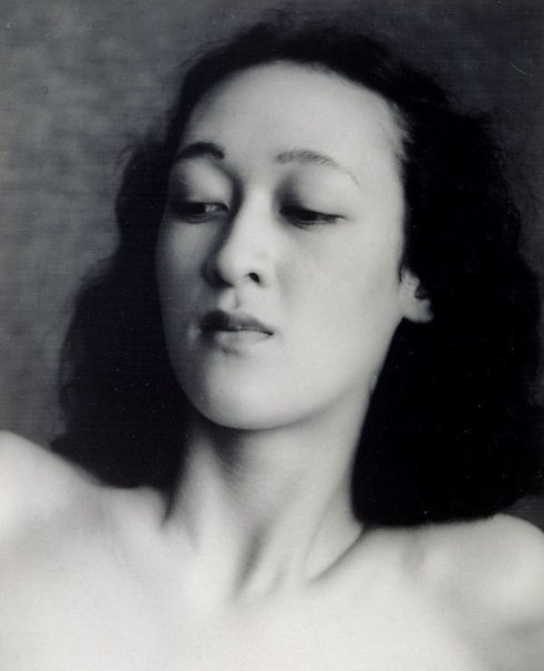 An image of Untitled (Asian woman, head and shoulders) by William Buckle