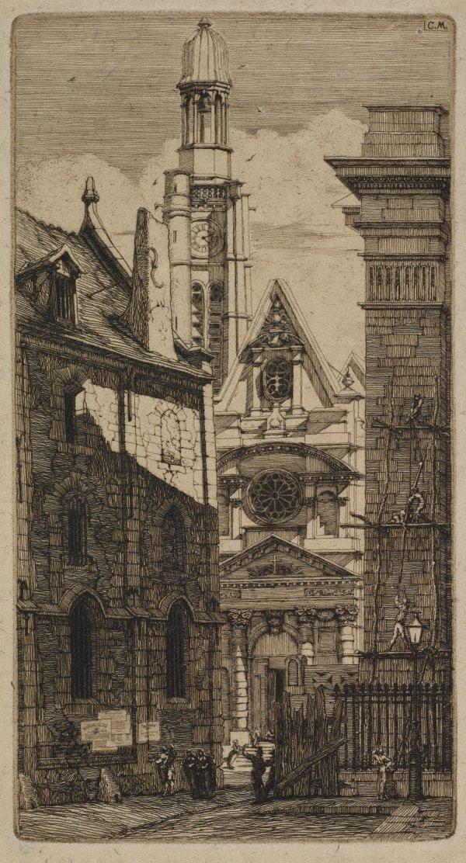 An image of St. Etienne-du-Mont, Paris