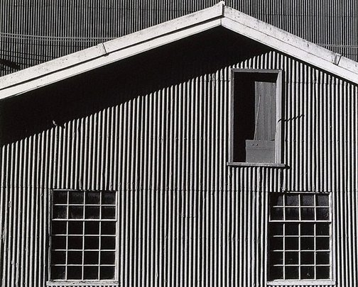 An image of Old electricians' workshop from west by Mark Johnson