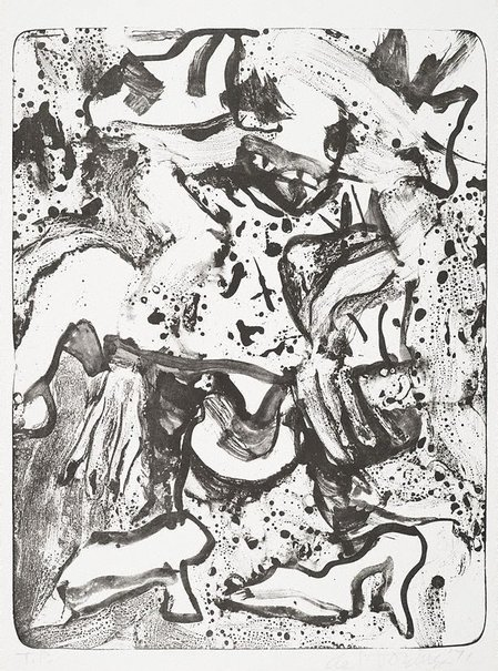 An image of Minnie Mouse by Willem de Kooning