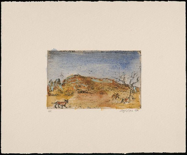 An image of Macdonnell Ranges, Central Australia I