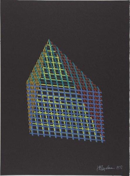 An image of Pyramid by Herbert Flugelman