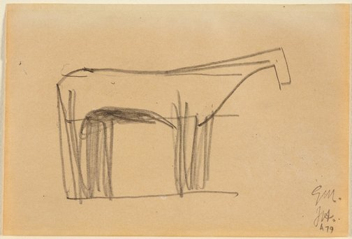An image of Horse Study 1 by Godfrey Miller