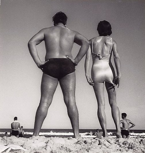 An image of Form at Bondi by Max Dupain