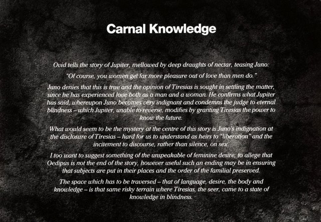 An image of Carnal knowledge