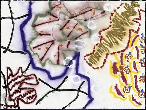 An image of Sydney : 7 February : 1990: I by Patrick Heron
