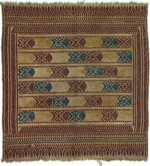 An image of Tampan with a fish pattern by