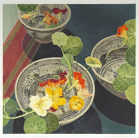 AGNSW collection Cressida Campbell Nasturtiums (2002) 186.2006