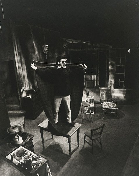 An image of Nicol Williamson in 'The ginger man' by J P Donleavy, Royal Court Theatre, London by Lewis Morley