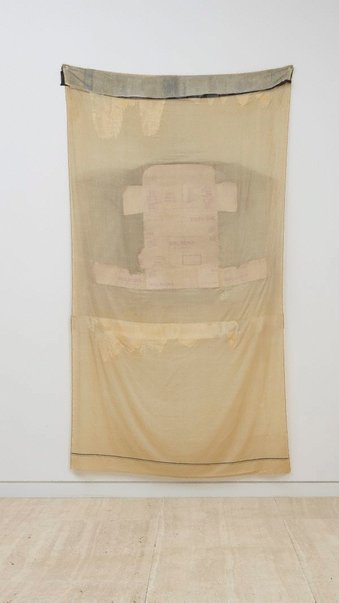 An image of Bologna frost by Robert Rauschenberg