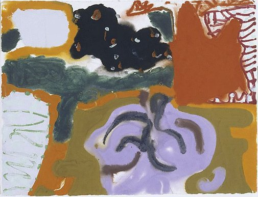An image of Sydney : November 15 : 1989 by Patrick Heron