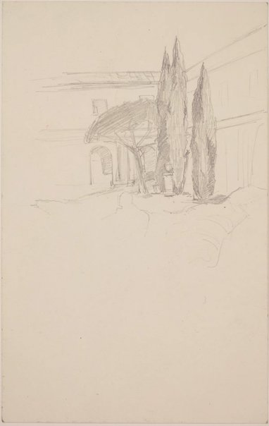 An image of (Study of Pines) by James Gleeson